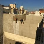 rehabilitacion y aislamiento de fachada