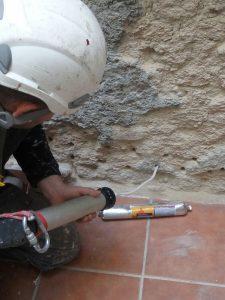 Barreras químicas contra la humedad de capilaridad