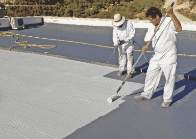 Impermeabilización de cubiertas en Madrid
