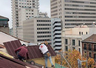 recuperacion de tejados en madrid