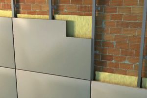 Composición del sistema de fachadas ventiladas
